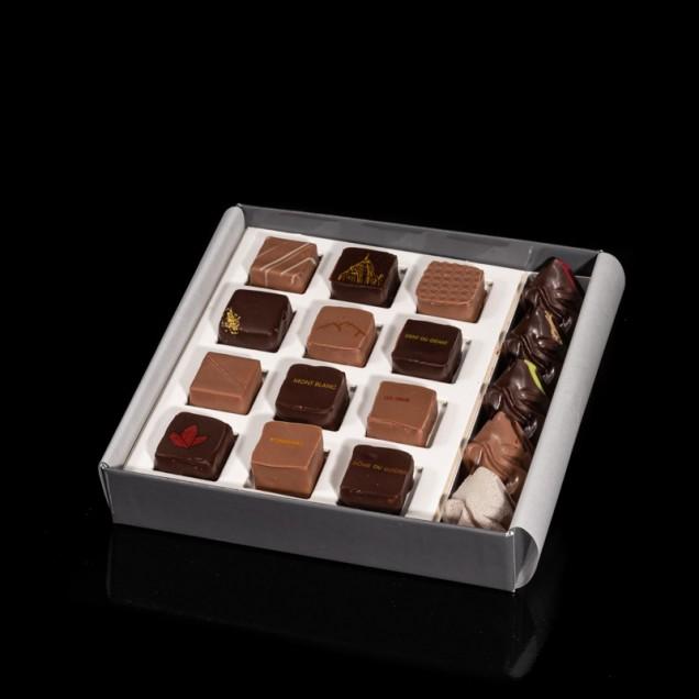 Coffret de 17 chocolats des...