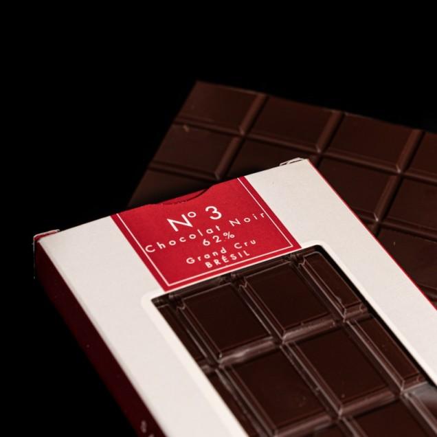 N°3 Chocolat noir 62% Grand...