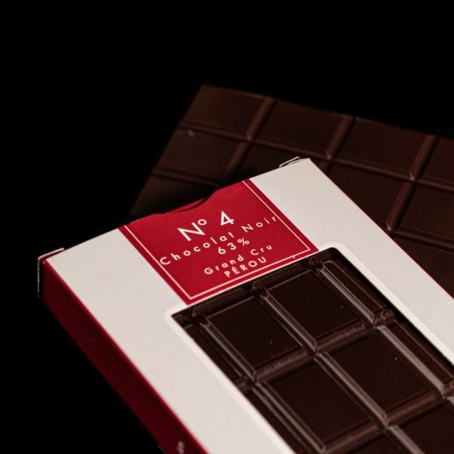 N°4 Chocolat noir 63% Grand...