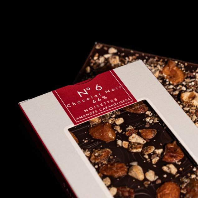 N°6 Chocolat noir 66%...