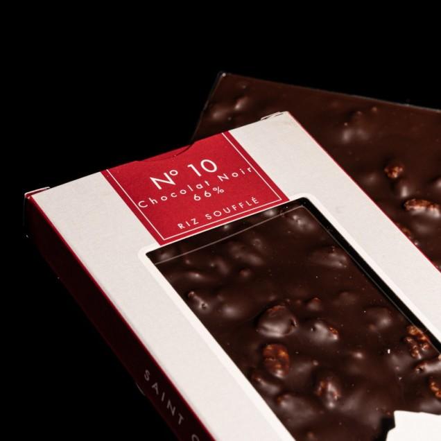 N°10 Chocolat noir 66% riz...
