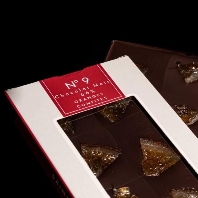 N°9 Chocolat noir 66%...