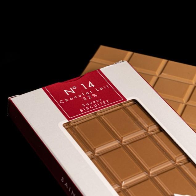 N°14 Chocolat lait 32%...