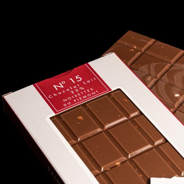 N°15 Chocolat lait 35%...