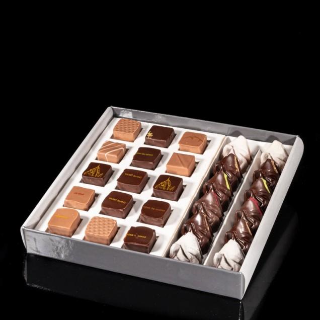Coffret de 27 chocolats des...