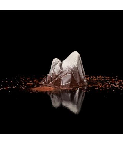 Le 4810 chocolat noir : Praliné amande noisette maison, feuillantine