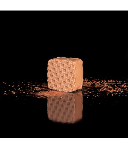 DOLENT : Ganache chocolat lait grand cru 33%, compotée d'oranges