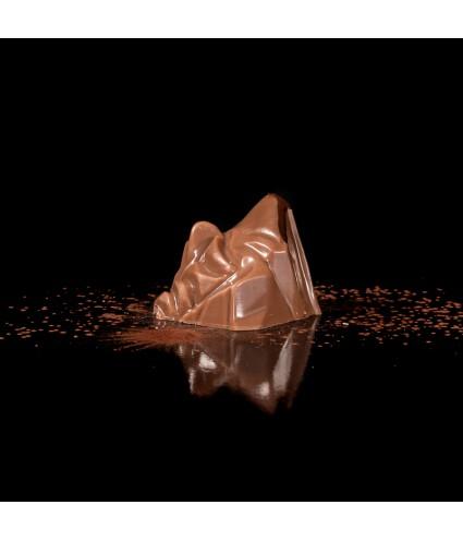 Le 4808 : Ganache chocolat noir, café, coque chocolat lait à 46%
