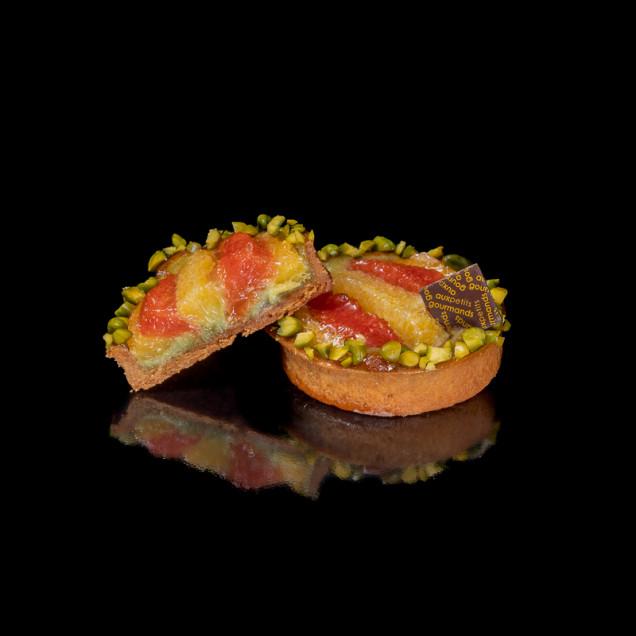 Tartelette Pistache Agrumes